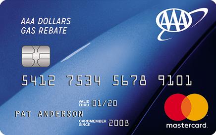 Gas Credit Cards >> Aaa Dollars Mastercard Aaa Dollars Gas Rebate