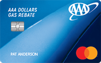 AAA Dollars® Gas Rebate MasterCard®